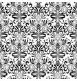damask seamless pattern floral isolated vector image