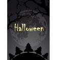 Halloween Design Halloween vector image
