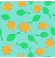 Leaf Fall Seamless Pattern vector image vector image