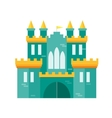Castle Princess Flat Design Style vector image vector image