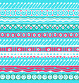 ethnicity seamless pattern boho style ethnic vector image vector image