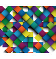 renew of colorful pattern great picture with vector image vector image