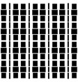 repeatable background with squares rectangles vector image vector image