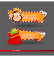 Set of banners for New Year 2016 holidays vector image vector image