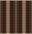 tribal vintage abstract geometric striped pattern vector image