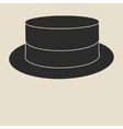 Boater hat vector image
