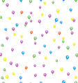 Seamless Balloon Pattern vector image vector image