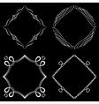 Set of nice decorative frames vector image vector image
