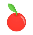 Apple isometric 3d icon vector image vector image