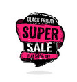 big super sale flat 50 off vector image