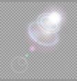 cosmic shiny effect vector image vector image