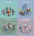 social penalties design concept vector image
