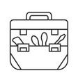 tool bag linear icon