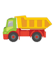 truck toy vector image vector image