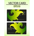 vector abstract business card vector image vector image