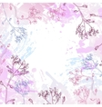 background of flowers vector image