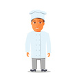 Cartoon Chief Cook Character isolated vector image
