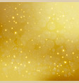 abstract golden background with sparkling shiny vector image vector image