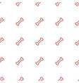 bone icon pattern seamless white background vector image vector image