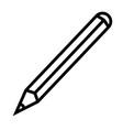 draw edit pen pencil write icon vector image