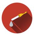 Dropper icon vector image
