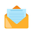 email icon e-mail symbol flat graphic isolated vector image