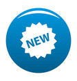 new sign icon blue vector image vector image