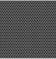 Seamless hexagonal background vector image