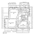 second floor residence plan is the conventional vector image vector image