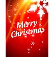 stylish christmas background vector image vector image