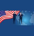 us united states america international vector image vector image