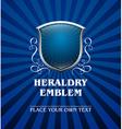 Vintage heraldry emblem7 vector image