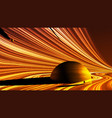 abstract powerful gravity field vector image vector image
