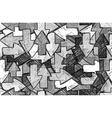 Arrow seamless background vector image