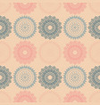 fire work flowers symmetry seamless pattern vector image