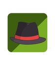 hat hipster style icon vector image