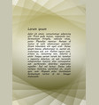 minimalist leaflet background design composed of vector image vector image