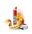 September 1st Back To School background vector image