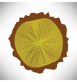 tree rings vector image vector image