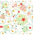 abstract seamless child pattern wuth stars vector image