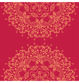Abstract Mandala style lace doily vector image vector image
