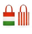 Color Sale Bag Set vector image