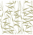 grass seamless pattern with green grass on a vector image vector image