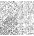 Grunge Stroke Set vector image vector image