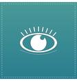 icon - Human eye vector image vector image