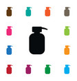 isolated hand sanitizes icon lotion vector image