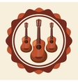 Music icons design vector image vector image