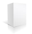 white big box vector image vector image