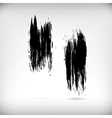 Strokes of a Paint Brush vector image