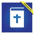 bible icon vector image vector image